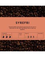 Black Cat Syrefri Kaffe 1kg Hele Bønner