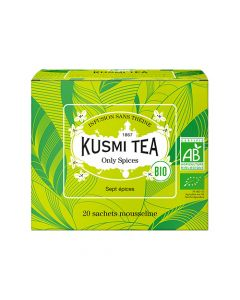 Kusmi Tea - Organic Only Spices 20 Teposer