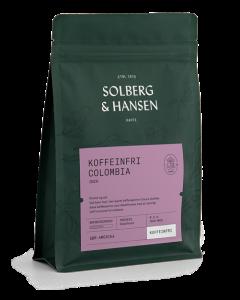 Solberg & Hansen Dekaffiner Tarqui Hele Bønner 250gr