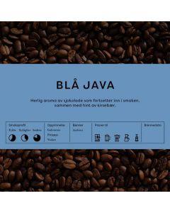 Black Cat Blå Java hele bønner