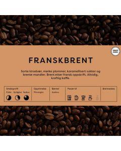 Black Cat Fransk Brent kaffe 1kg Hele Bønner