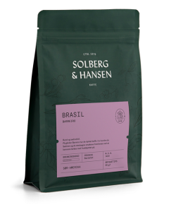 Solberg & Hansen Fazenda Barreiro hele bønner 250 gr