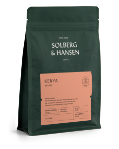 Solberg & Hansen - Kenya - Rukira Hele Bønner 2,5 kg