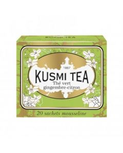 Kusmi Tea Ginger-Lemon Green Tea 20 Teposer