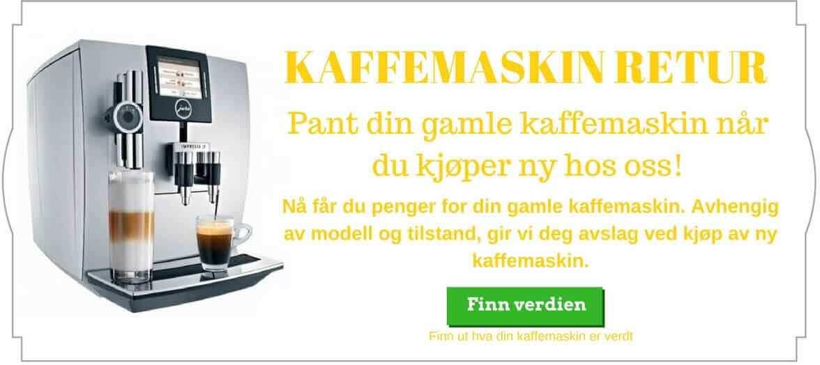 retur-av-kaffemaskin